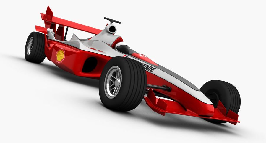 Formel 1 bil royalty-free 3d model - Preview no. 9