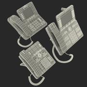 Collection de modèles 3D de téléphones IP Cisco 2 3d model