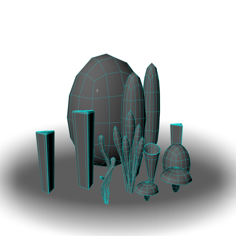 Concept Milieu royalty-free 3d model - Preview no. 3