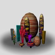 Concept Milieu 3d model