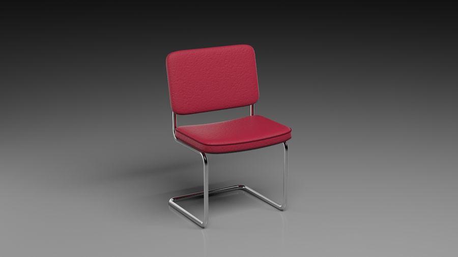 事務用椅子 royalty-free 3d model - Preview no. 4