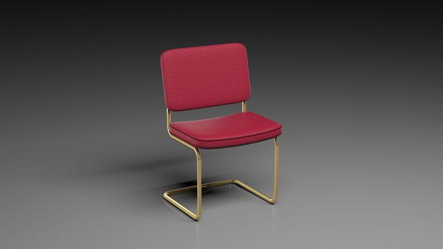 事務用椅子 royalty-free 3d model - Preview no. 3