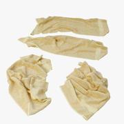 Asciugamani caduti 3d model