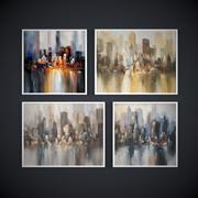 Måleri. Samlingen av målningar av samtida konstnärer, New York 3d model