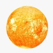 Lowpoly Sun 3d model