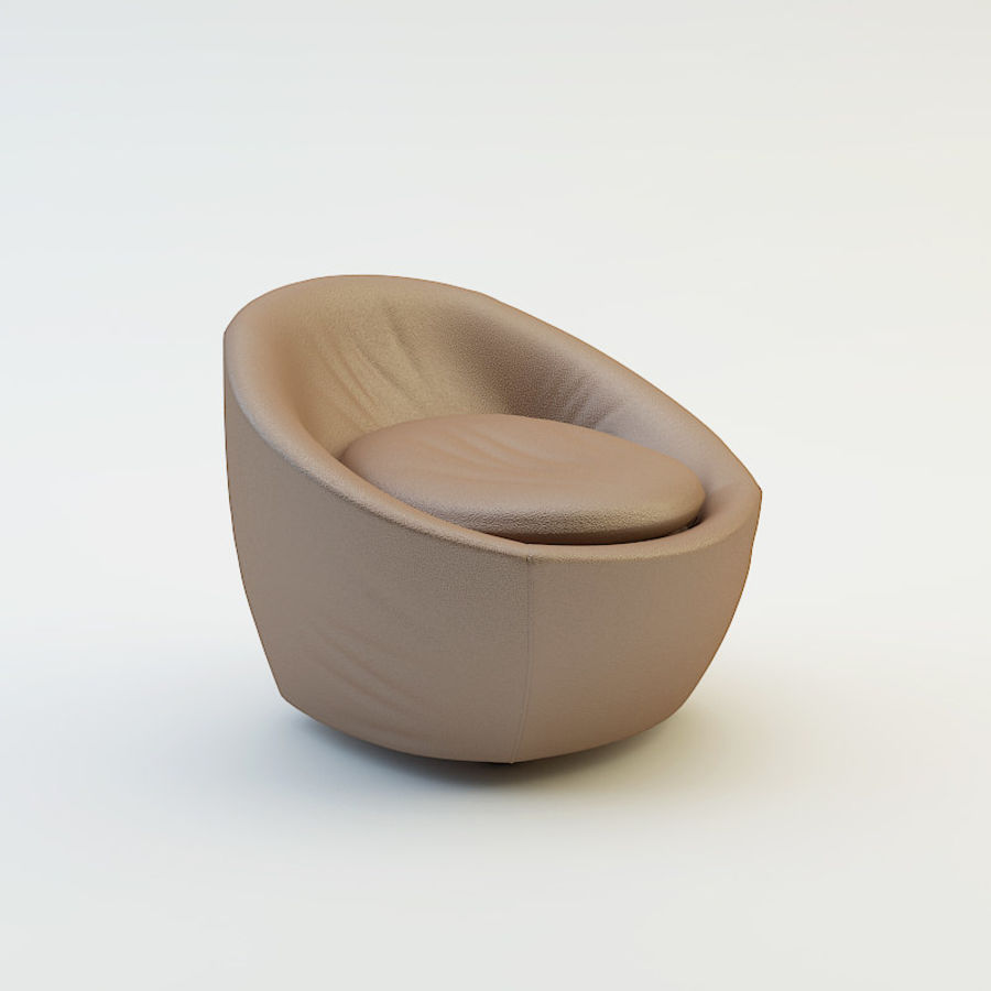 Stuhl und Hocker royalty-free 3d model - Preview no. 2