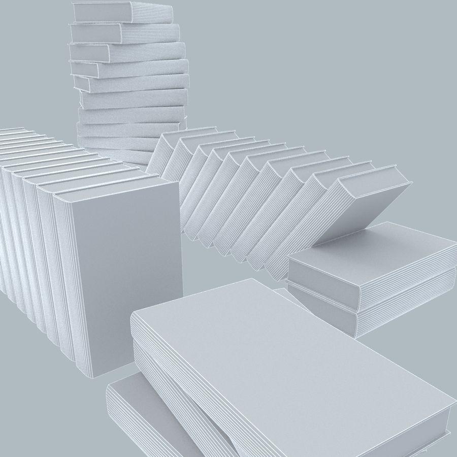een set boeken van Tolstoj OORLOG EN VREDE royalty-free 3d model - Preview no. 2