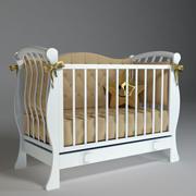 Baby cot 3d model
