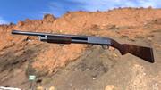 Ithaca M37 lowpoly 3d model