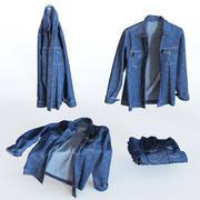 Jean jacket 3d model