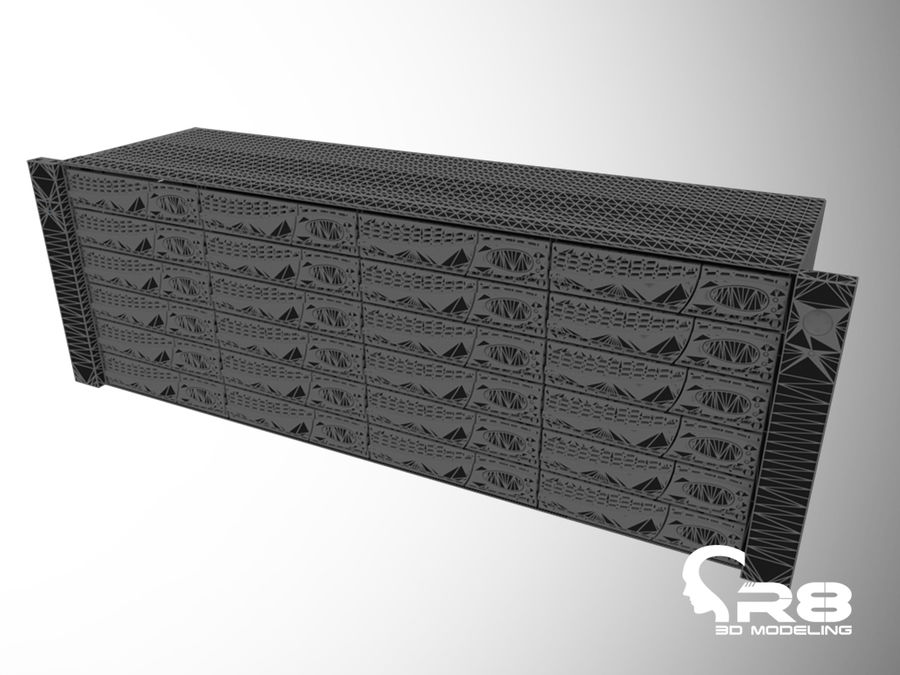 Server royalty-free 3d model - Preview no. 5