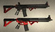 Sig Sauer AR-15 Arctique et tactique 3d model