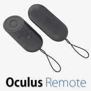 Oculus Rift Remote 3d model