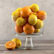 柠檬和橙子 3d model