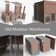 Antiguo Almacén Modular modelo 3d