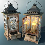 Candle Lantern 3d model