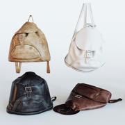 skórzany plecak 3d model