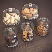 cookie jars 3d model