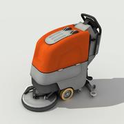 Caminhe atrás do secador de lavagem - Low Poly 3d model