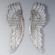 Flügel Wanddekoration 3d model