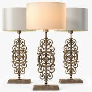 LuxDeco Lampe de table en bronze de Prague 3d model