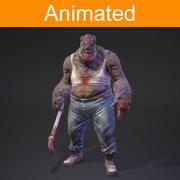 Fat monster 3d model