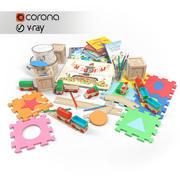 Toy Set 3d model