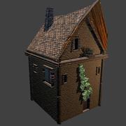 Kleines mittelalterliches Haus 3d model