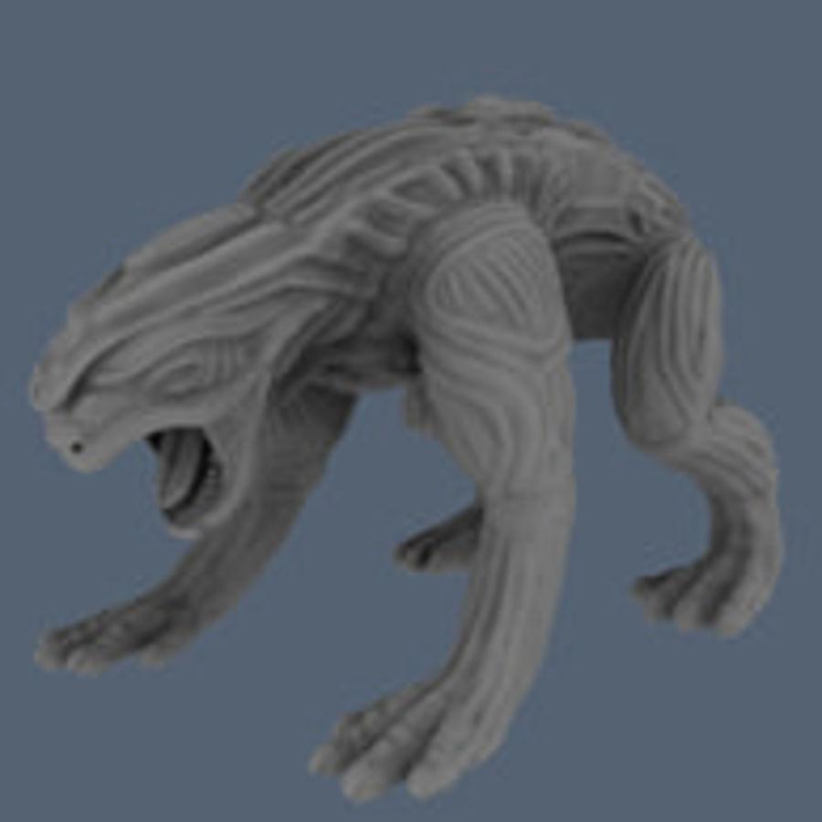 Чужеродное животное High Poly royalty-free 3d model - Preview no. 11