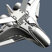 Intergalactic Spaceship High Poly 3d model