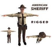 Poliziotto Sceriffo 3d model