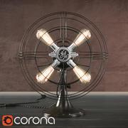 Lámpara Ventilador General Electric modelo 3d