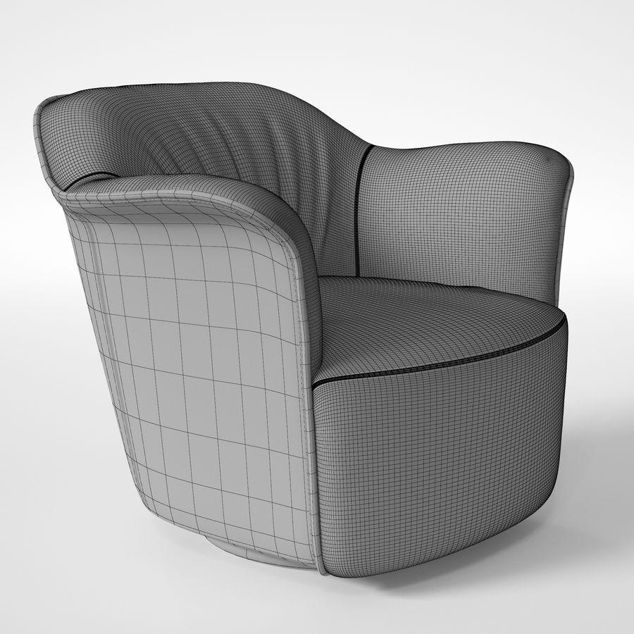 Полтрона фрау АИДА royalty-free 3d model - Preview no. 6