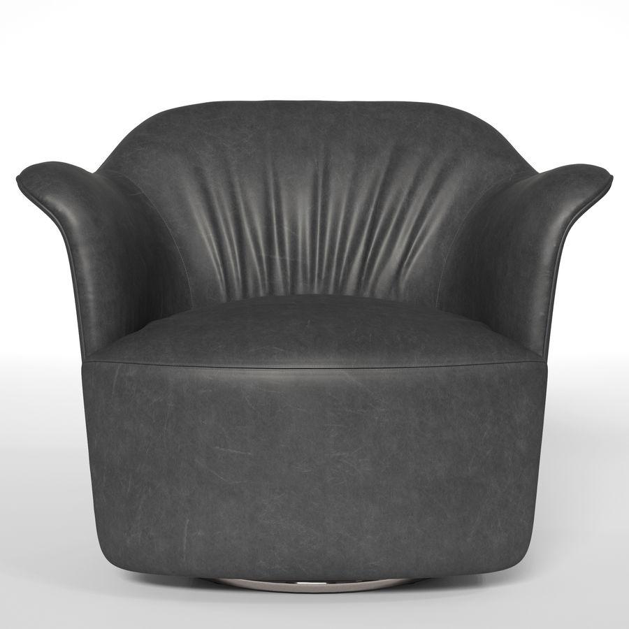 Полтрона фрау АИДА royalty-free 3d model - Preview no. 2