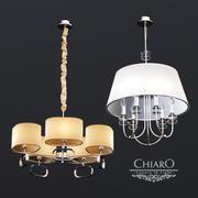 Żyrandole Chairo Palermo 3d model
