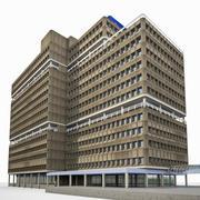 Edificio dell'Università di Amsterdam 3d model