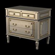 auffrance meubelen Louis XVI Commode 3d model
