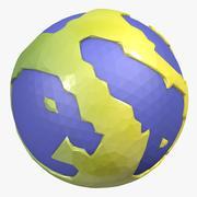 Świat kreskówek 3d model