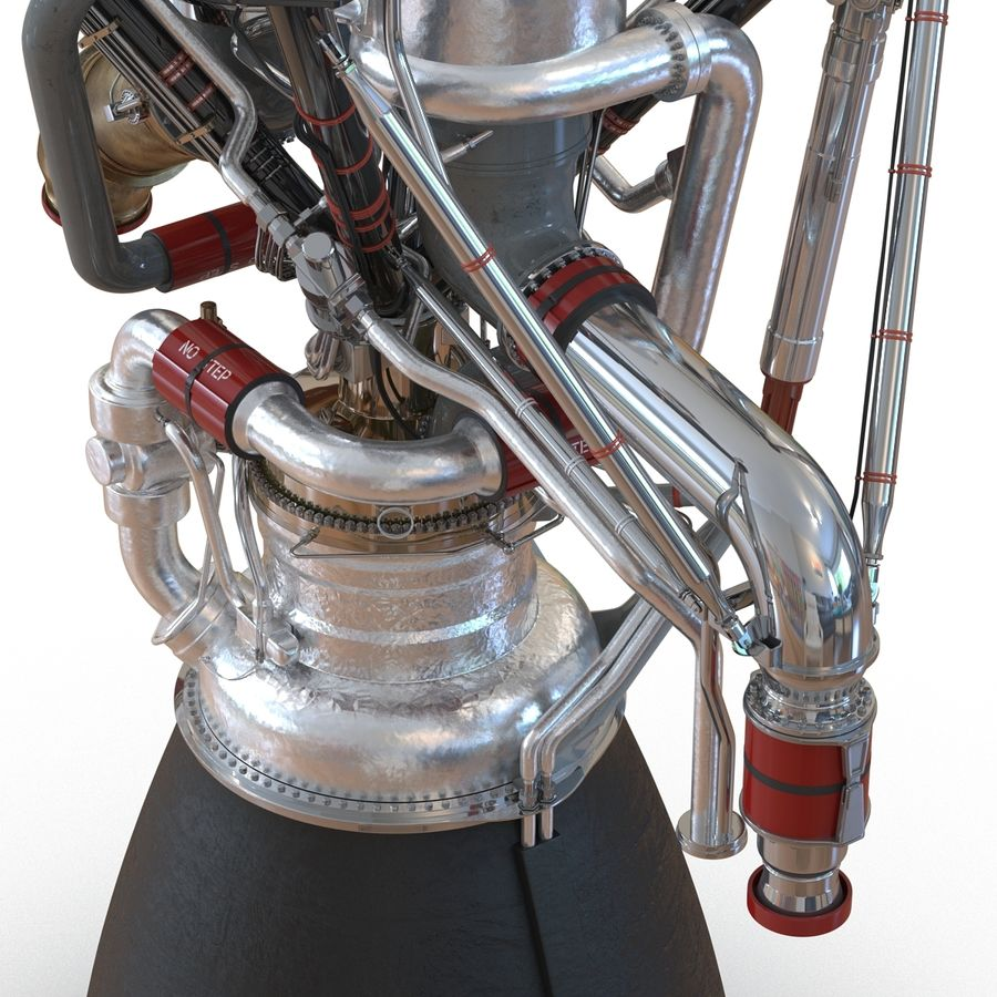 Aircraft Engines Collection royalty-free 3d model - Preview no. 92
