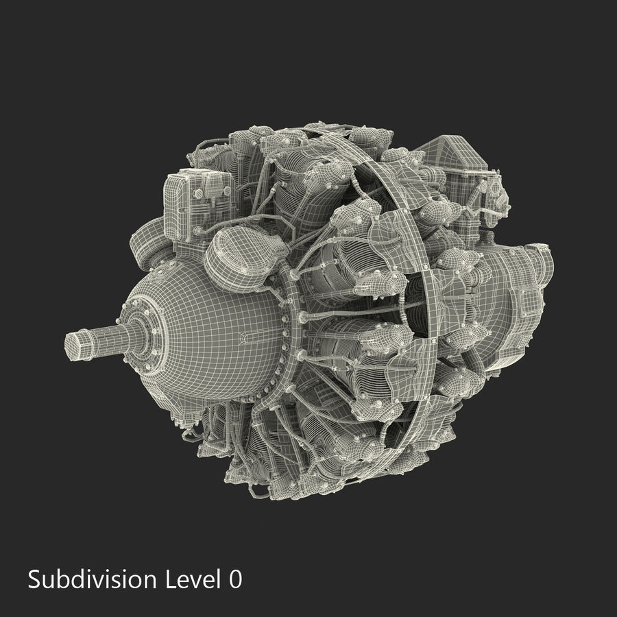 Aircraft Engines Collection royalty-free 3d model - Preview no. 200