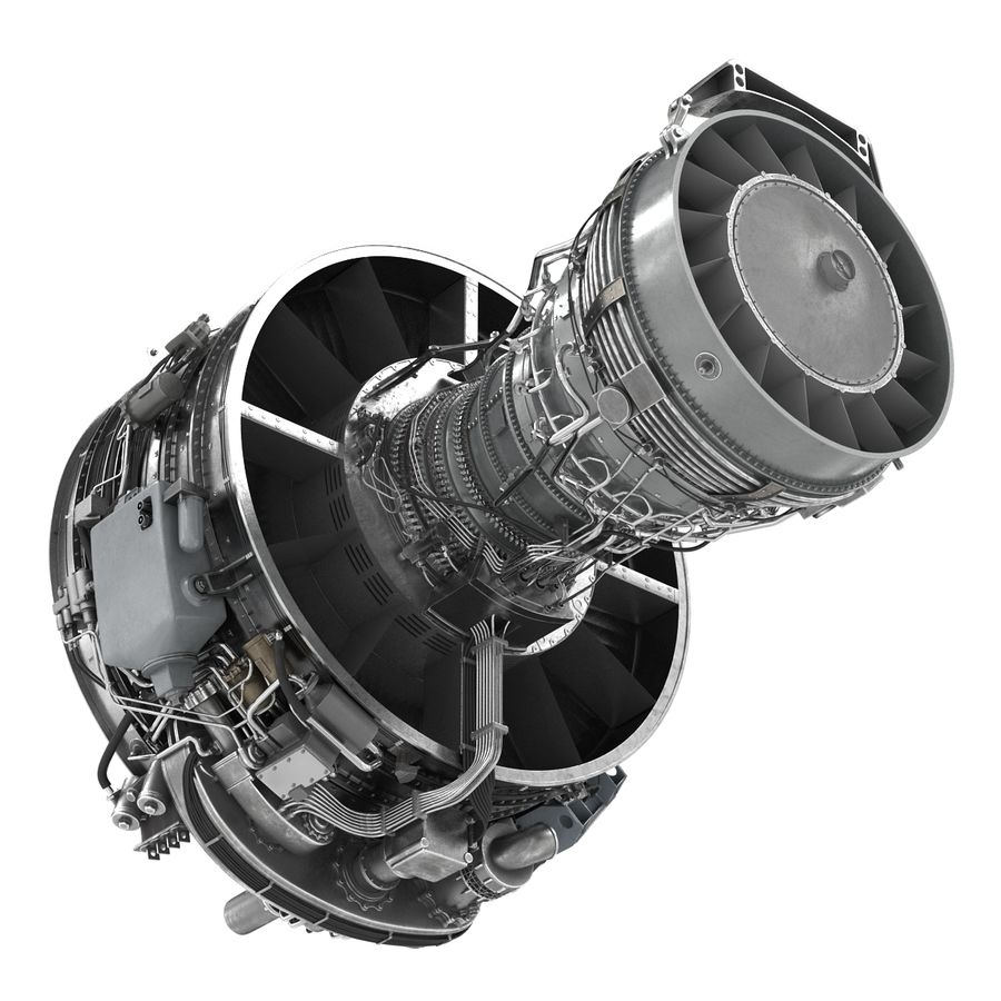 Aircraft Engines Collection royalty-free 3d model - Preview no. 109