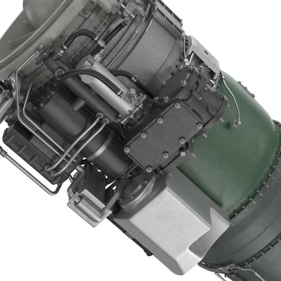 Aircraft Engines Collection royalty-free 3d model - Preview no. 170