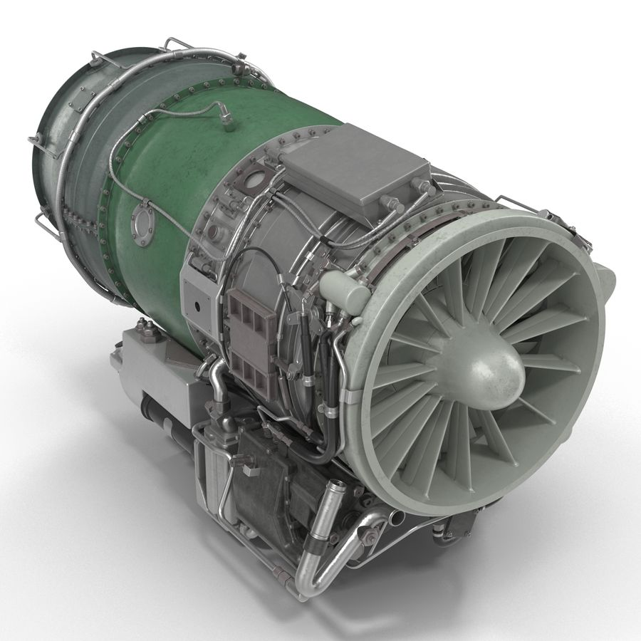 Aircraft Engines Collection royalty-free 3d model - Preview no. 156