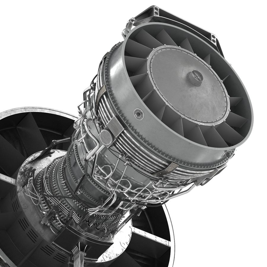 Aircraft Engines Collection royalty-free 3d model - Preview no. 116
