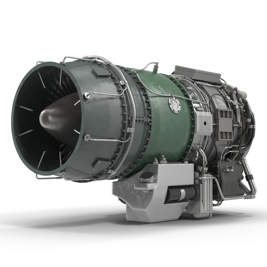 Aircraft Engines Collection royalty-free 3d model - Preview no. 157