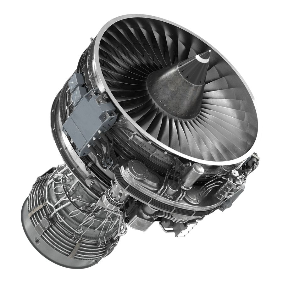 Aircraft Engines Collection royalty-free 3d model - Preview no. 108