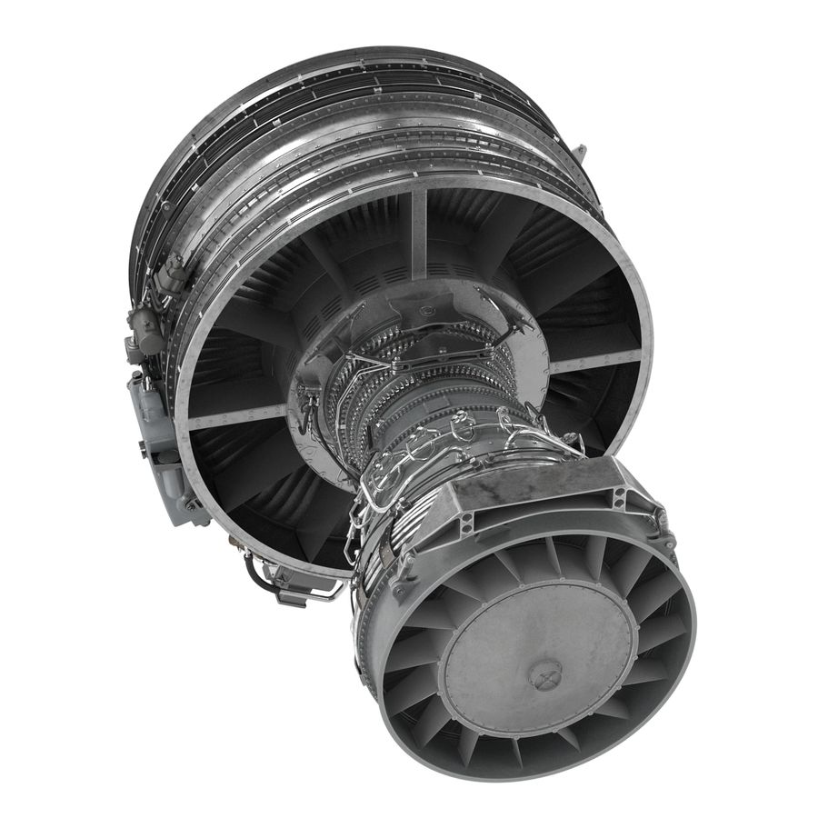 Aircraft Engines Collection royalty-free 3d model - Preview no. 107