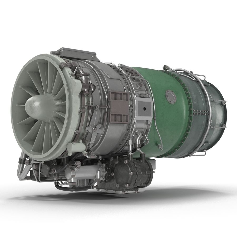 Aircraft Engines Collection royalty-free 3d model - Preview no. 155