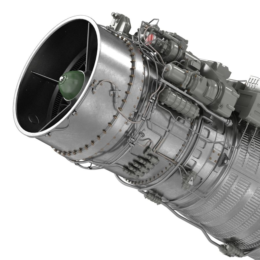 Aircraft Engines Collection royalty-free 3d model - Preview no. 145