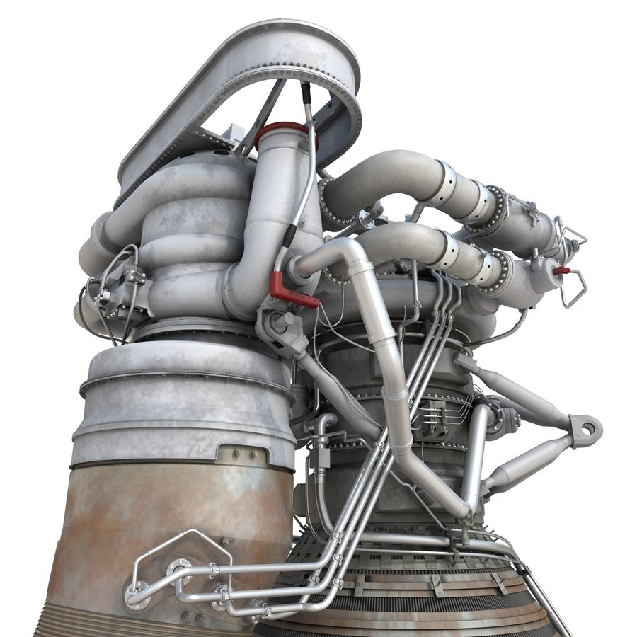 Aircraft Engines Collection royalty-free 3d model - Preview no. 75